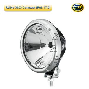 Фара дальнего света Hella Rallye 3003 FF Compact, с габаритным огнем (Ref. 17.5)