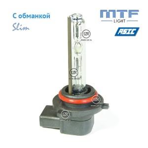 Ксенон MTF-Light Slim Line с доп. проводом и обманками HIR2/9012 6000K