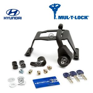Замок КПП MUL-T-LOCK 1306 для Hyundai i30 (2009-2011), механика 5