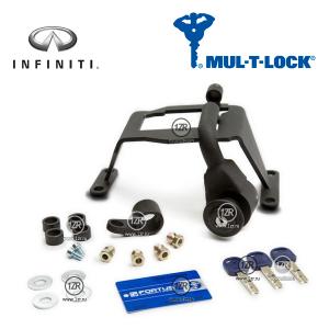 Замок КПП MUL-T-LOCK 1280/A для Infiniti FX (2008-2013), QX70 (2013-), типтроник