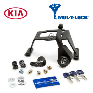 Замок КПП MUL-T-LOCK 1036 для Kia Picanto (2007-2010), автомат