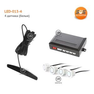 Парктроник SVS LED-013-4 (белые датчики)