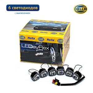Дневные ходовые огни Hella LEDayFlex 6 с выключением
