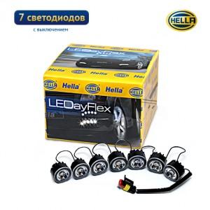 Дневные ходовые огни Hella LEDayFlex 7 с выключением