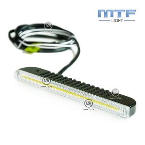 Дневные ходовые огни MTF-Light Slim DRL 5000K 150мм
