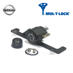 Замок КПП MUL-T-LOCK 1186 для Nissan Tiida (2007-2014), механика 6