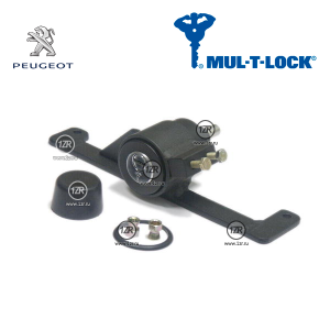 Замок КПП MUL-T-LOCK 687 для Peugeot Partner (2003-2008) механика 5