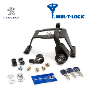 Замок КПП MUL-T-LOCK 2203, 2214 для Peugeot 301 (2013-), механика 5