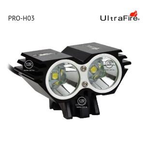 Велосипедная фара UltraFire PRO-H03