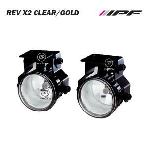 Противотуманные фары IPF-Light Rev X2 Clear/Gold Белое свечение