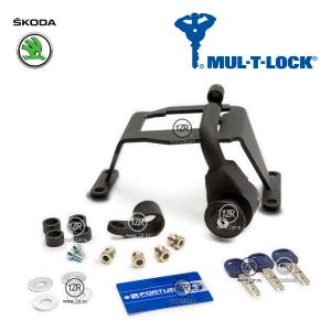 Замок КПП MUL-T-LOCK 06/A для Skoda Octavia (1996-2011), механика 5