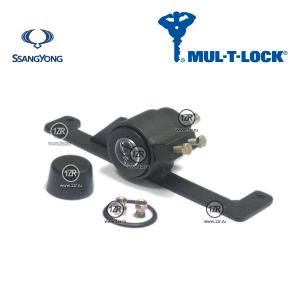 Замок КПП MUL-T-LOCK 1133/A для SsangYong Rexton (2006-), типтроник (бензин)