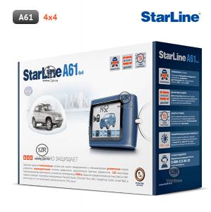 Автосигнализация StarLine A61 4x4