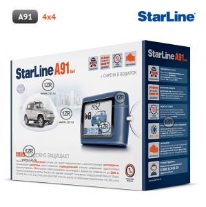 Автосигнализация StarLine A91 4x4