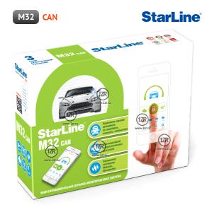 Охранно-мониторинговая система StarLine M32 CAN