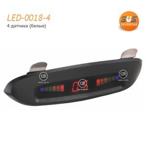 Парктроник SVS LED-0018-4 (белые датчики)
