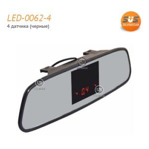 Парктроник SVS LED-0062-4 (черные датчики)