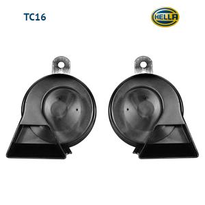 Звуковой сигнал Hella TC16 12V, 400/500Hz черный рожок