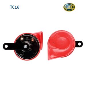 Звуковой сигнал Hella TC16 12V, 400/500Hz красный рожок