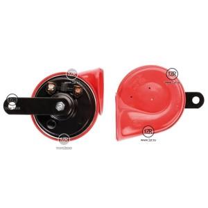 Звуковой сигнал Hella TE16 12V, 400/500Hz (без реле) красный рожок