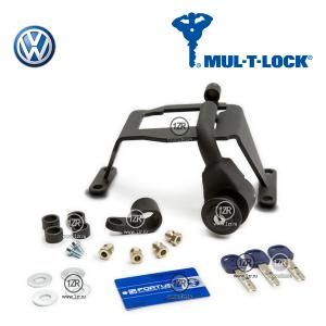 Замок КПП MUL-T-LOCK 2227 для Volkswagen Golf VII (2013-), механика 6