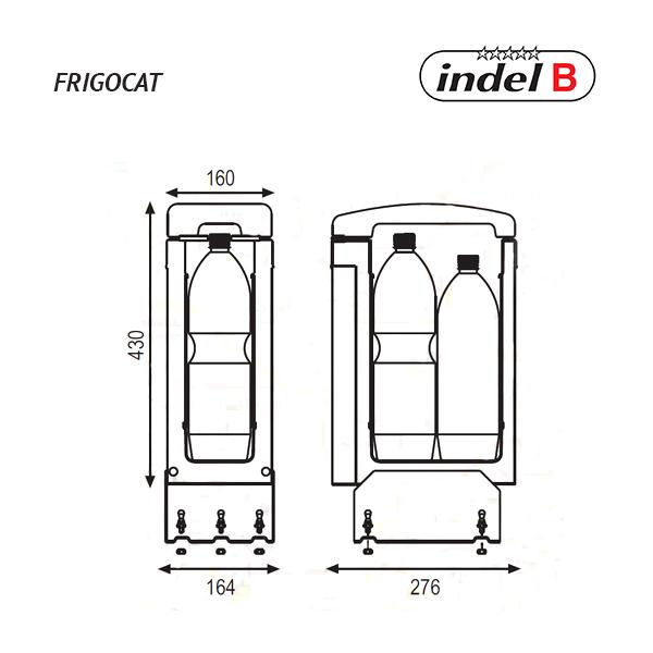 Автохолодильник Indel B Frigocat 24V - фото 4